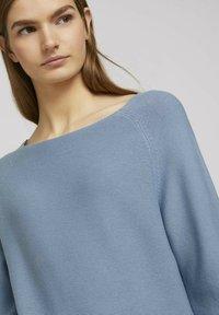 TOM TAILOR DENIM - Pullover - soft mid blue - 3