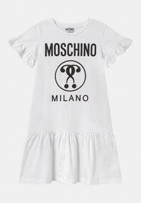MOSCHINO - Jersey dress - optic white - 0