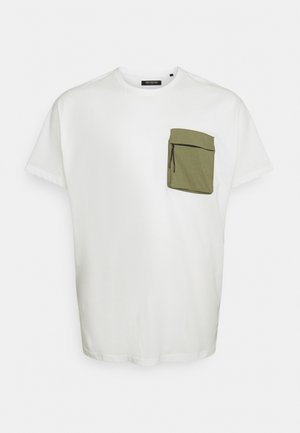PATCH POCKET TEE  - Basic T-shirt - off white