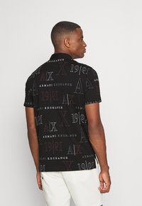 Armani Exchange - Polo shirt - black/red heritage - 2