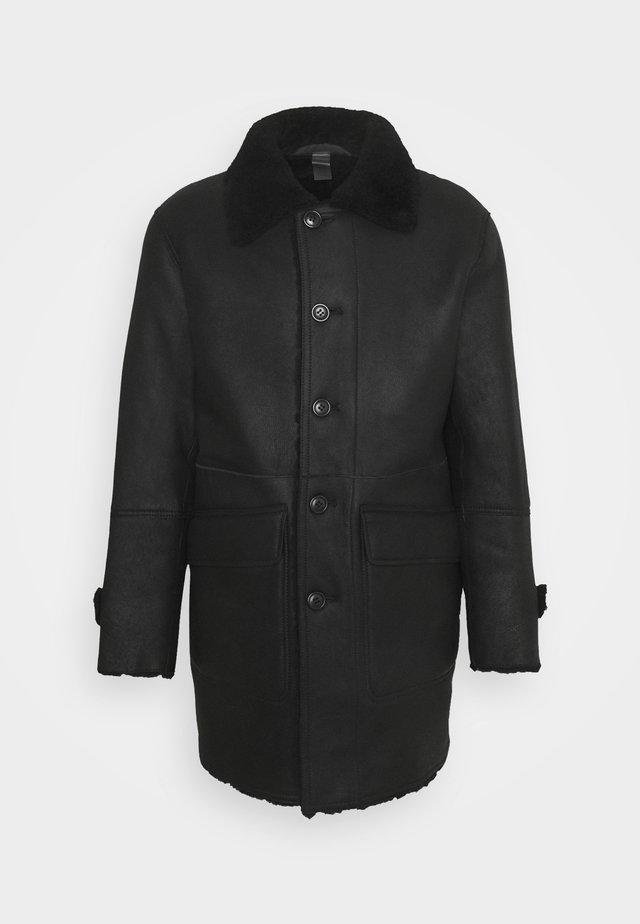 REVERSIBLE COAT - Winter coat - black