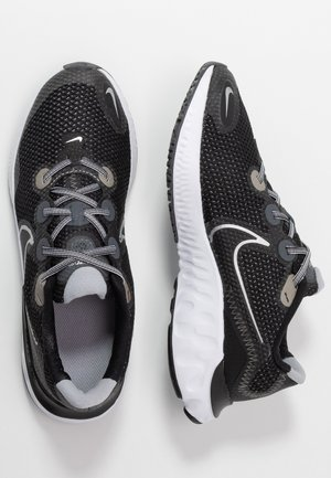 RENEW RUN UNISEX - Zapatillas de running neutras - black/metallic silver/white/wolf grey