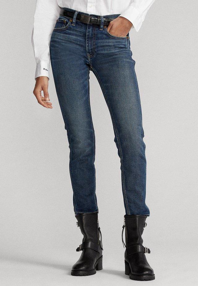 TOMP MR CRO - Skinny džíny - dark indigo