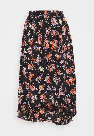 PCDAKOTA MIDI SKIRT - A-line skirt - black