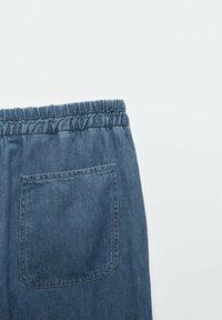 Massimo Dutti - Spodnie materiałowe - dark blue - 4