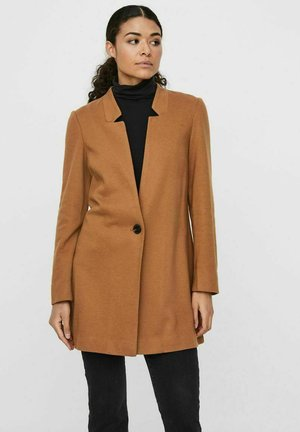 Manteau court - tobacco brown