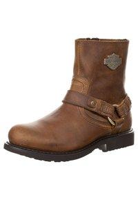 Harley Davidson - SCOUT - Cowboy/biker ankle boot - brown - 6