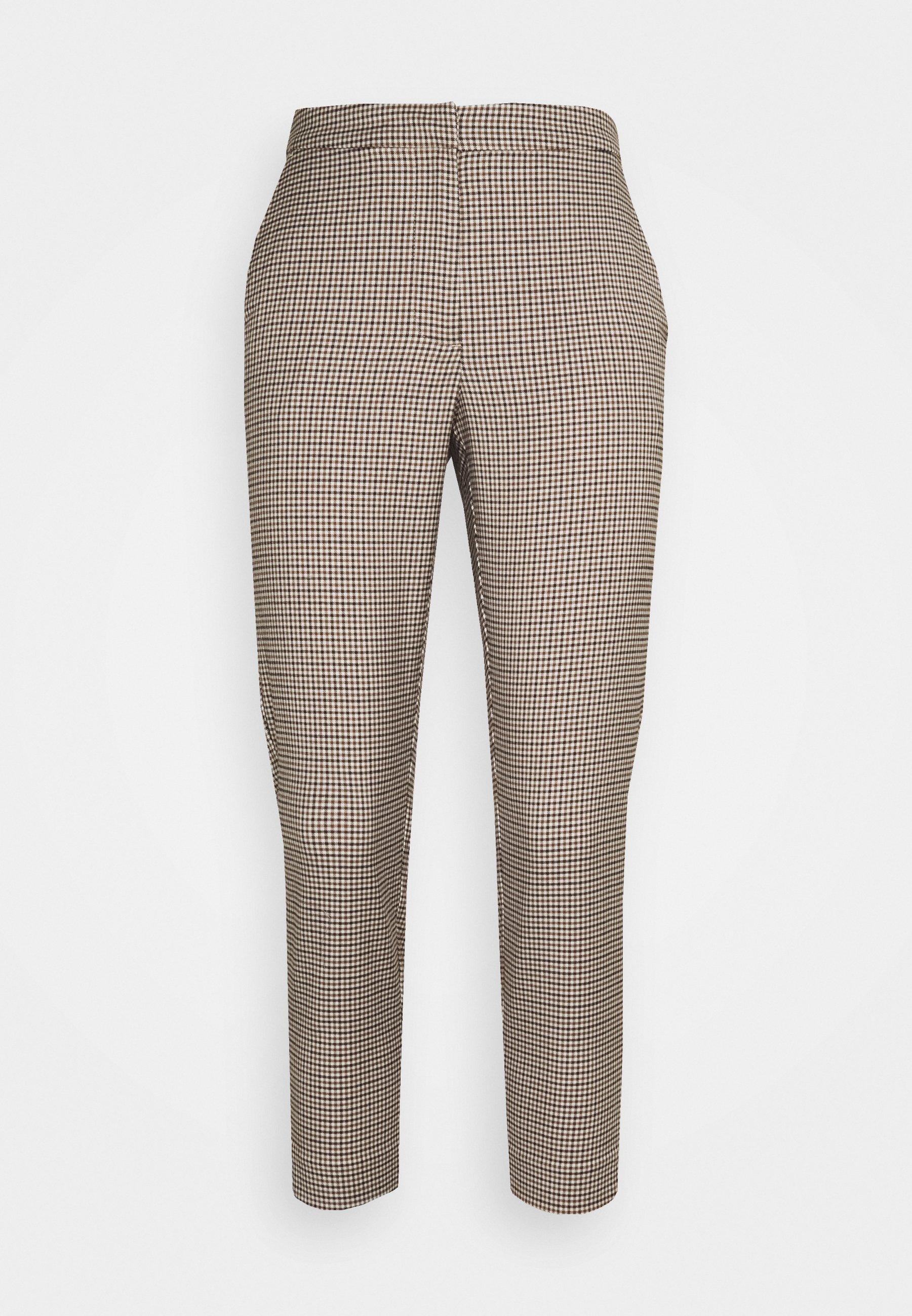 Women VMJANE AYA CHECK PANT - Trousers