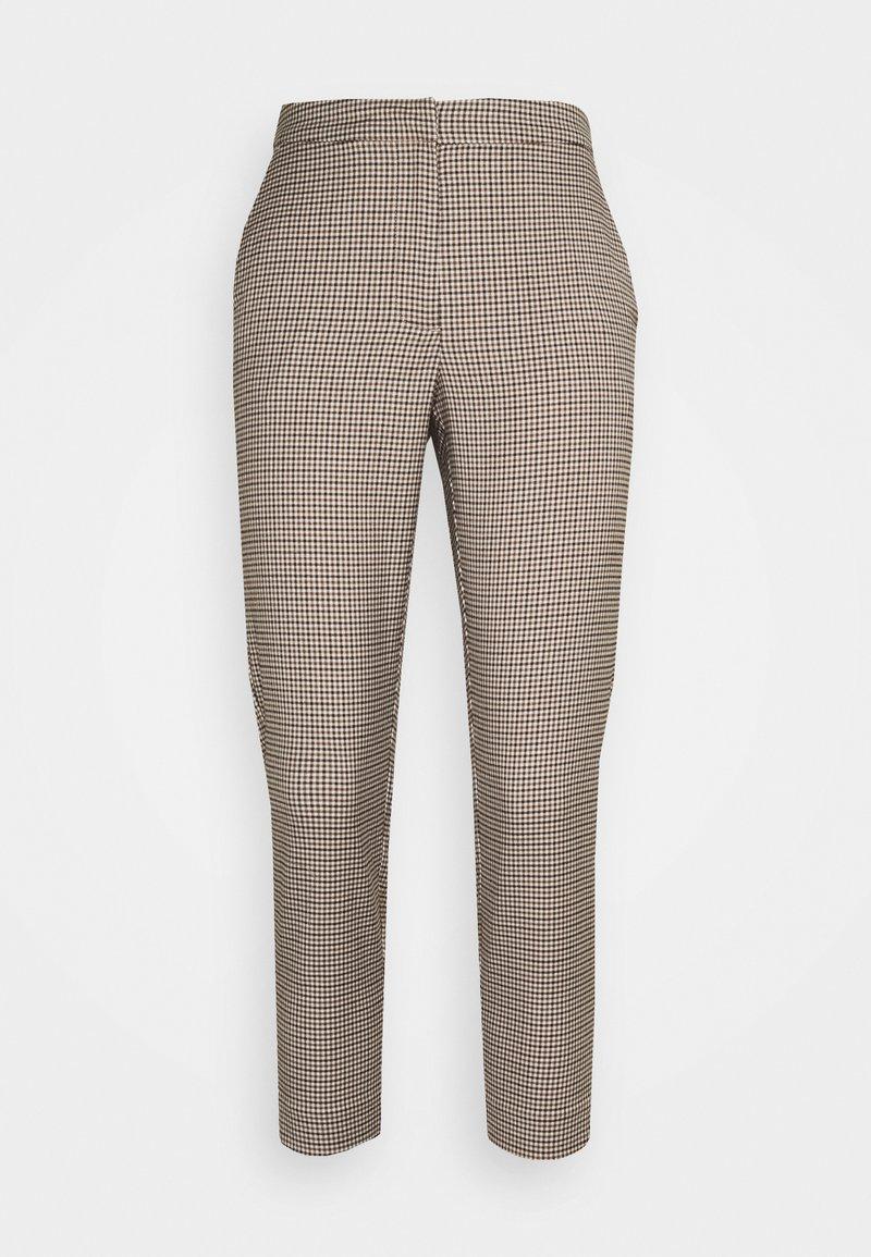 Vero Moda Petite - VMJANE AYA CHECK PANT - Trousers - black/emperador