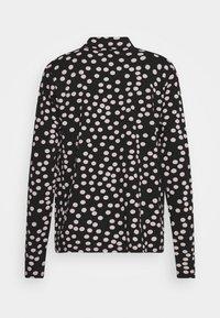Danefæ København - PETRA - Long sleeved top - black/light beige - 1