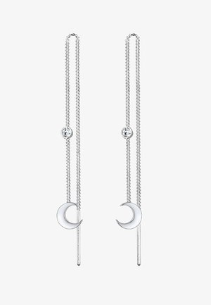HALBMOND  - Earrings - silver-coloured