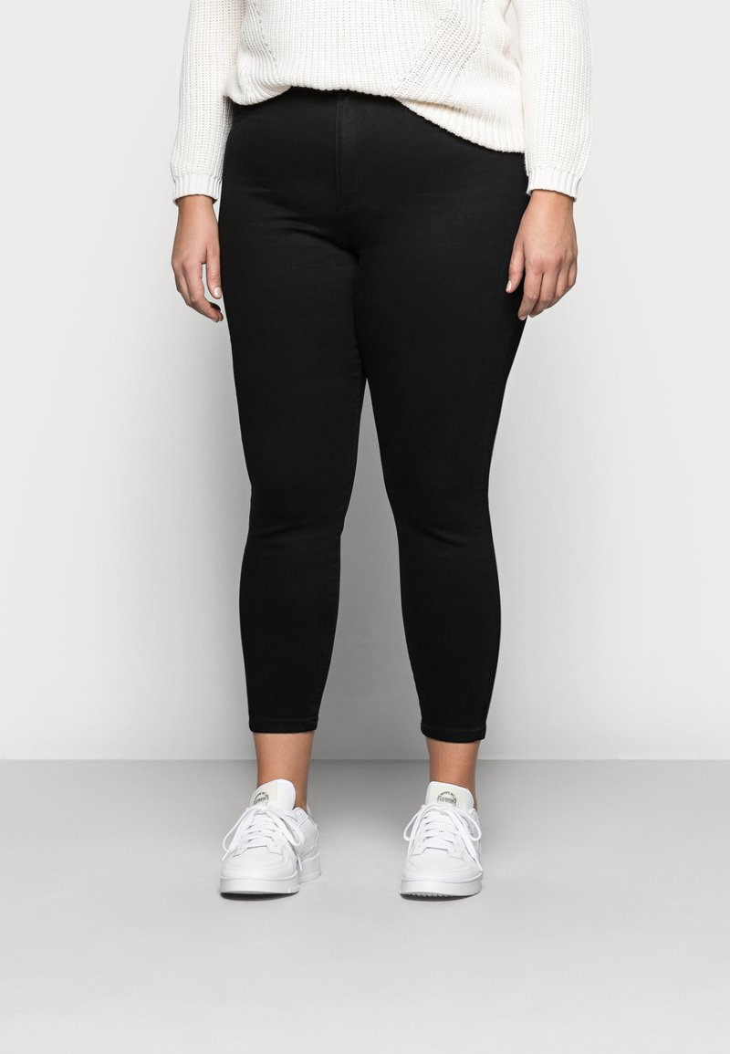 Cotton On Curve - ADRIANA - Jeans Skinny Fit - black