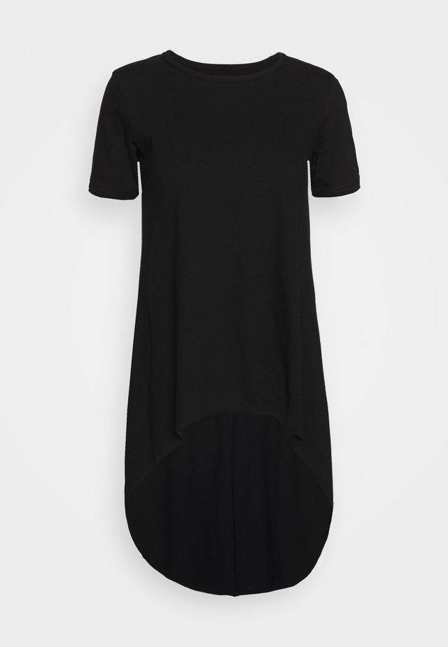MULLET TEE - T-shirt z nadrukiem - black