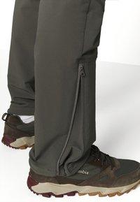 Norrøna - SVALBARD FLEX PANTS - Pantaloni outdoor - dark grey - 4