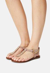 Copenhagen Shoes - REAL SUMMER - T-bar sandals - beige - 0