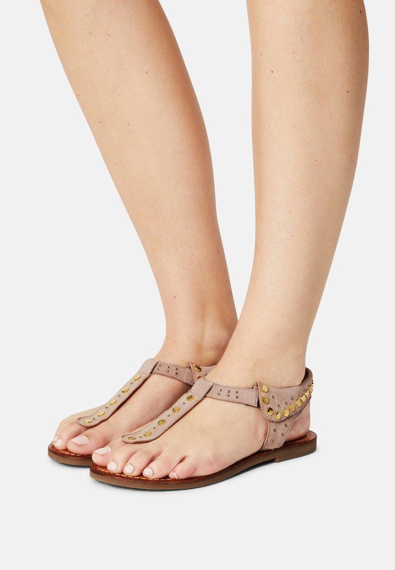 Copenhagen Shoes - REAL SUMMER - T-bar sandals - beige