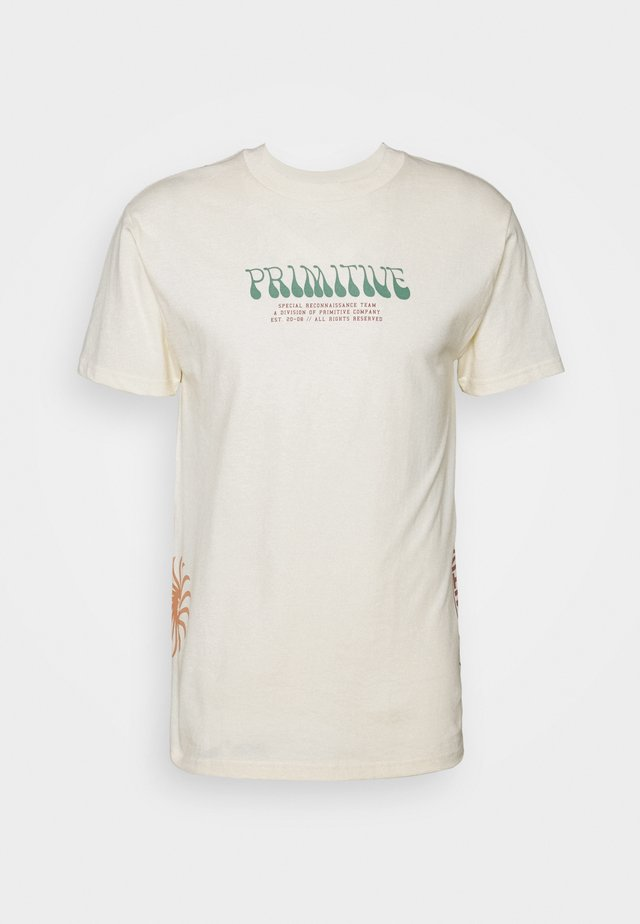 RECON TEE - T-shirt print - cream
