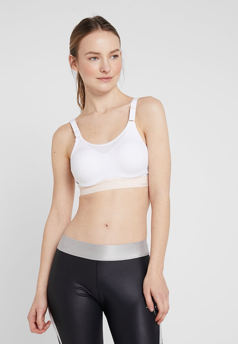 triaction by Triumph - TRIACTION CONTROL - High support sports bra - white