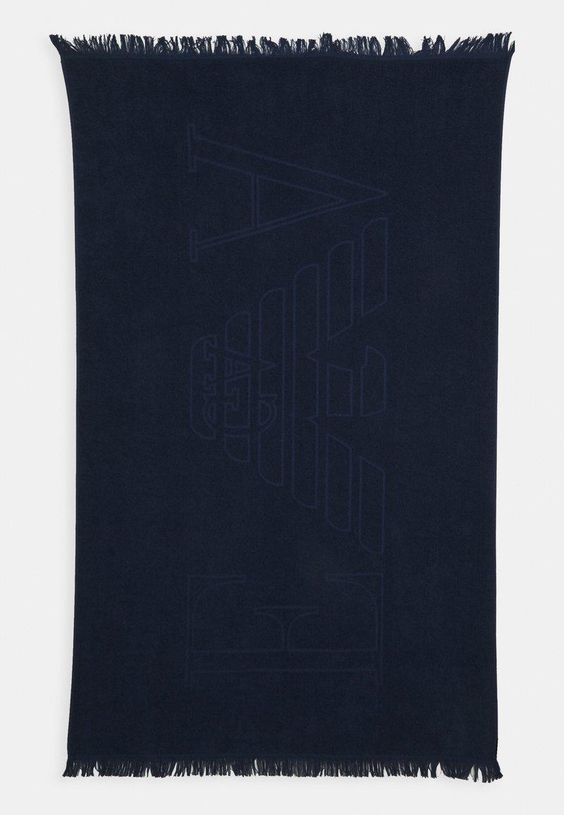 Emporio Armani - TOWEL - Bath towel - blu navy