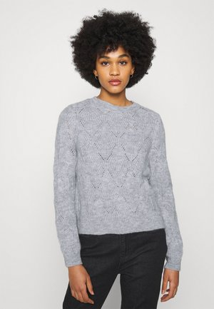 ONLSOFIA - Jumper - light grey melange