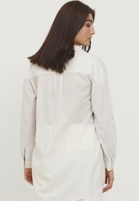 b.young - BYFIE STRIPE - Button-down blouse - oyster mix - 2