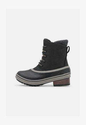 SLIMPACK LACE - Winter boots - black