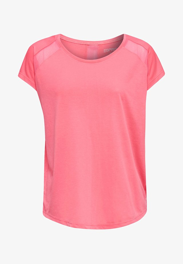 T-shirt imprimé - coral