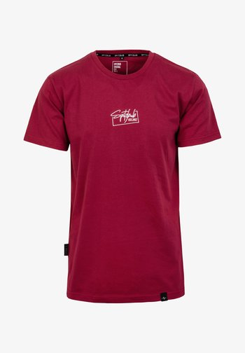 HEIKO - Basic T-shirt - rot