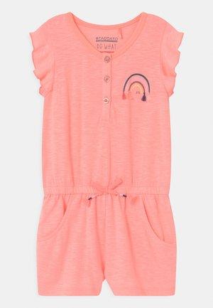 KID - Jumpsuit - light neon peach melange