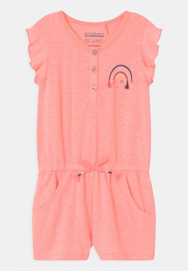KID - Overal - light neon peach melange