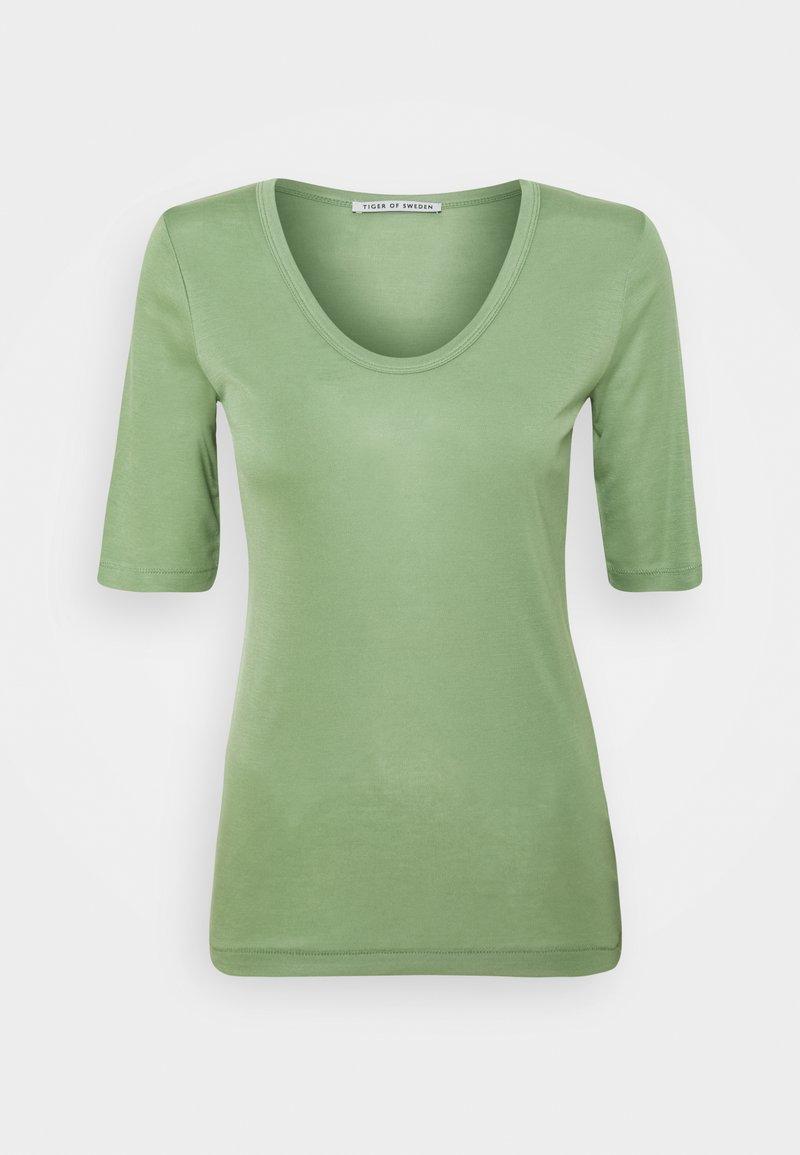 Tiger of Sweden - LERNA - Basic T-shirt - pale jade