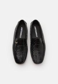Just Cavalli - Mokasíny - black - 3