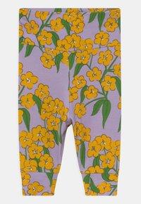 Mini Rodini - ALPINE FLOWERS  - Legging - purple - 2