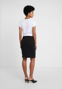 HUGO - THE PENCIL SKIRT - Pencil skirt - black - 2