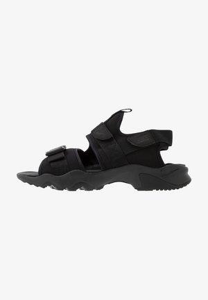 DUMMY - Chodecké sandály - black/anthracite