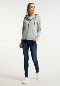 Schmuddelwedda - Zip-up sweatshirt - hellgrau melange - 1