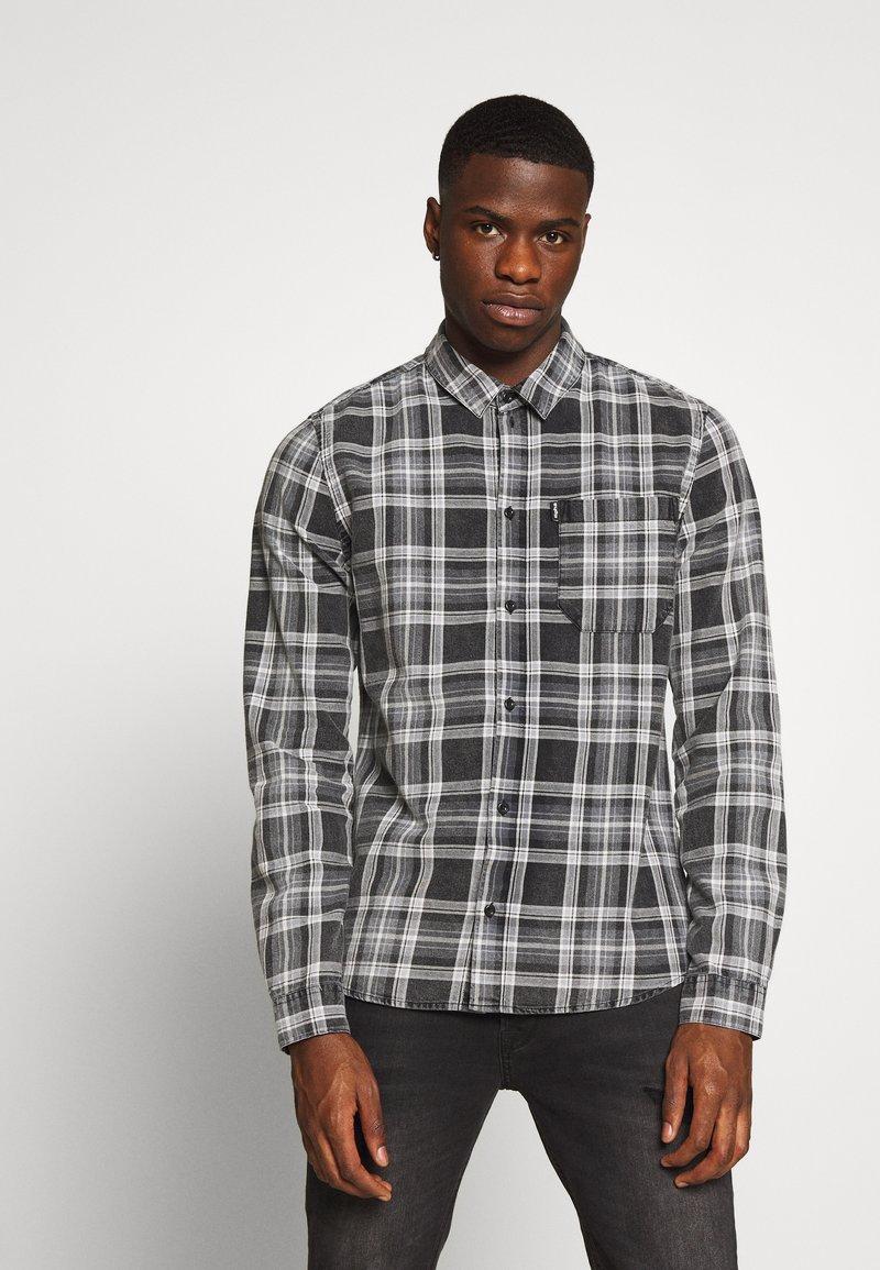 Tigha - MIC - Overhemd - black/anthra