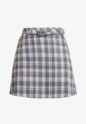 CILLIAN SKIRT - Spódnica trapezowa - grey