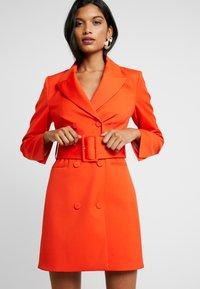 IVY & OAK - WITH BELT - Day dress - mandarin red - 3