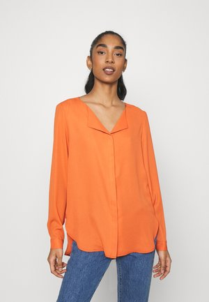 VILUCY - Blouse - burnt ochre