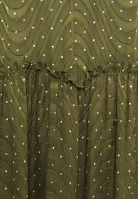Love Copenhagen - RATANA DRESS - Korte jurk - bronze green - 2