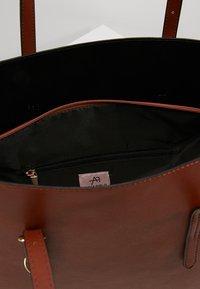 Anna Field - Tote bag - cognac - 6