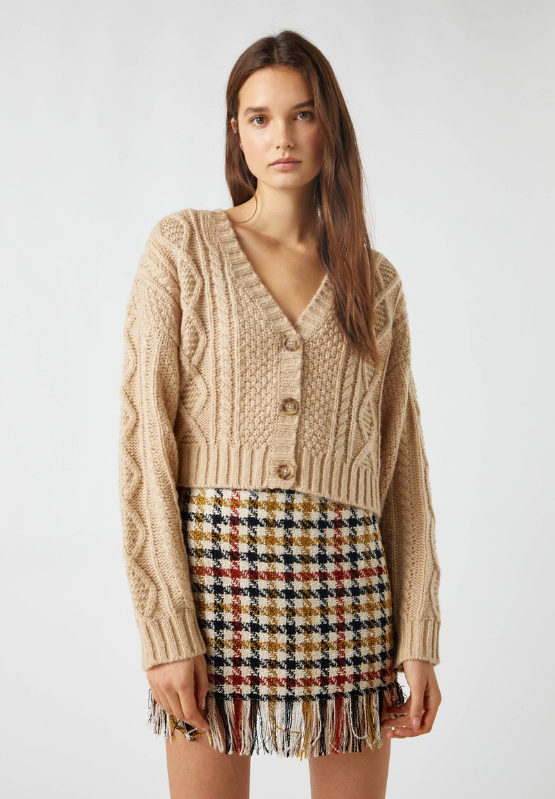 PULL&BEAR - Cardigan - brown