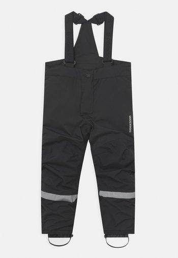 IDRE KIDS UNISEX - Snow pants - black