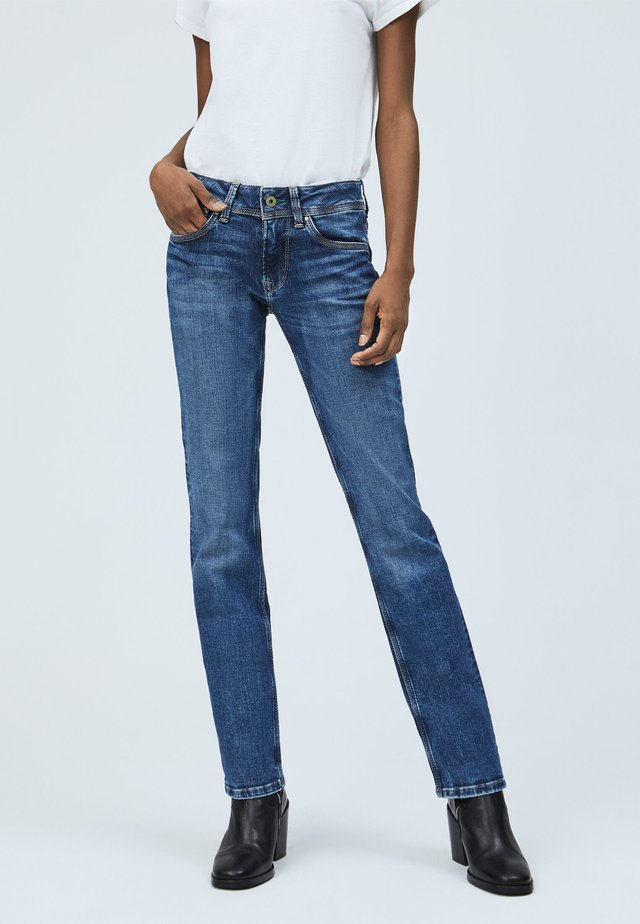 SATURN - Vaqueros slim fit - denim