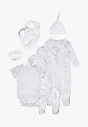 STARTER BABY SET - Long sleeved top - white