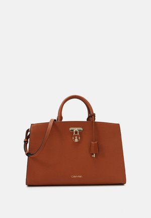BUSINESS TOTE - Briefcase - brown