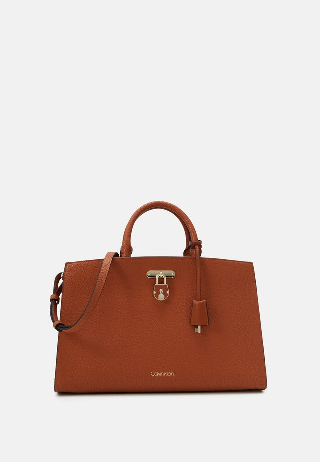BUSINESS TOTE - Mallette - brown