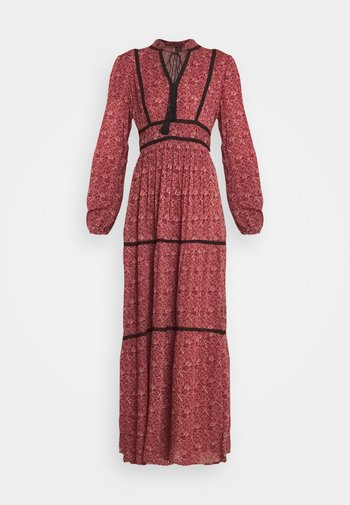 VMALICE ANCLE DRESS - Maxi-jurk - marsala/rosey