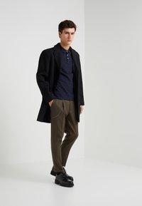 Emporio Armani - Polo shirt - dark blue - 1